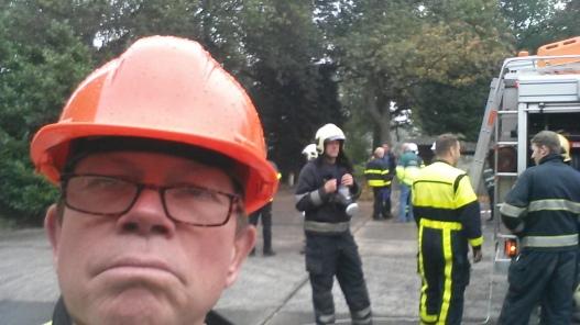 Hoofd BHV in leiderschapstraining brandweer